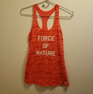 Under Armour Workout Tank - Size Small